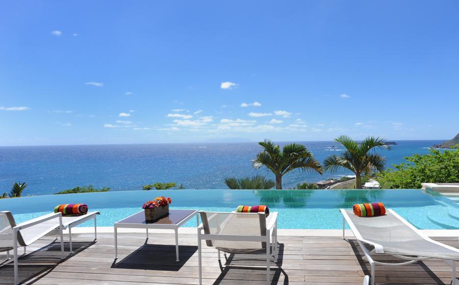 Vue panoramique de Acamar villa