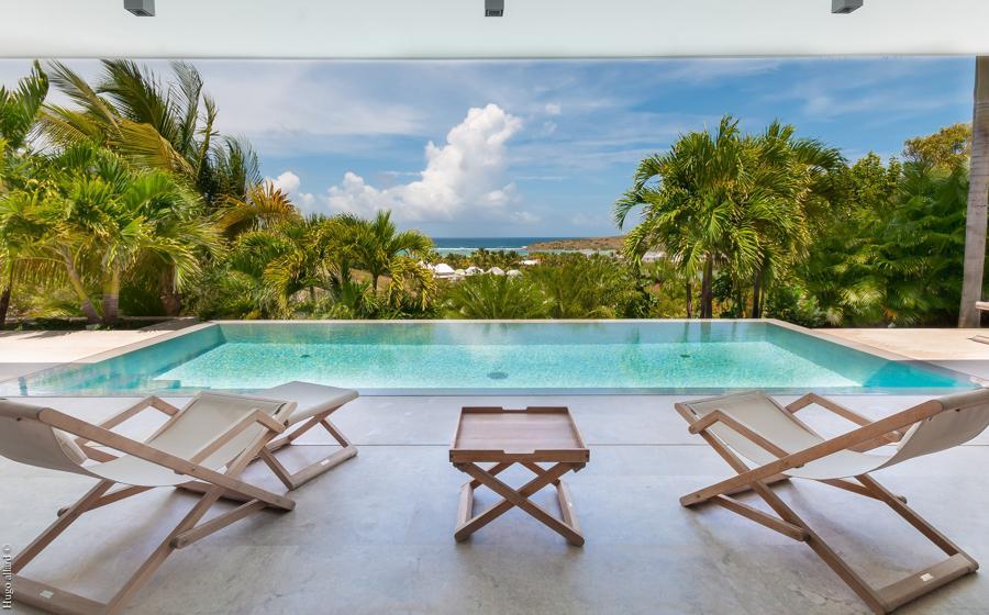 Vue panoramique de Palm