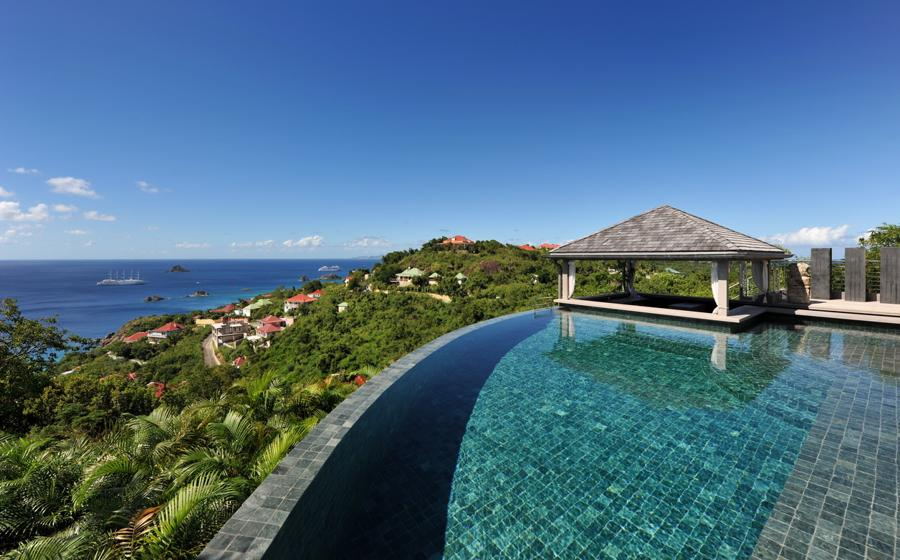 Panoramic view of Fleur de Cactus villa