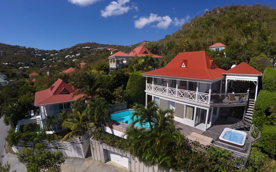 Panoramic view of Ipanema villa