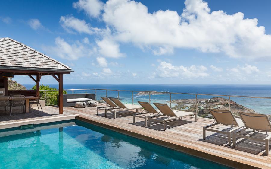 Vue panoramique de Casa Azul